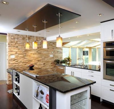 fall ceiling designs for kitchen