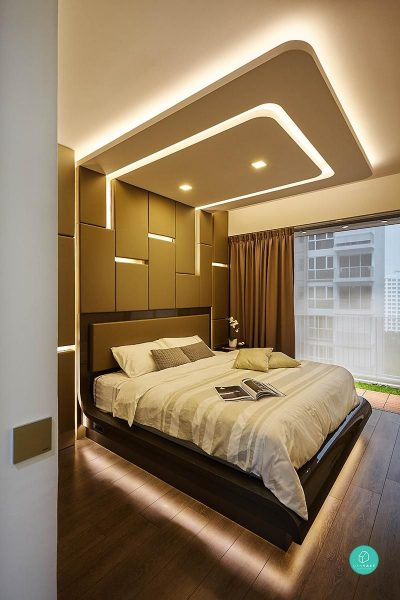 false ceiling design's for bedroom 2