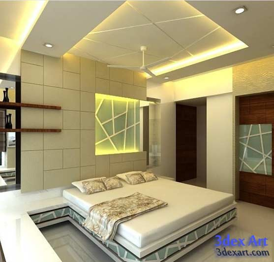 false ceiling design's for bedroom 3