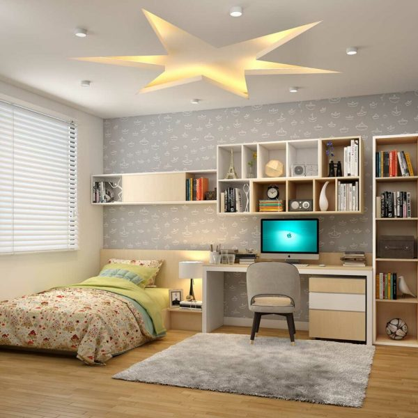 false ceiling design's for bedroom