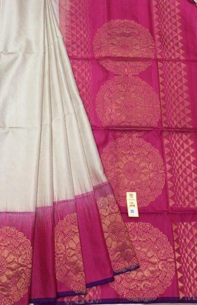 Pure Kanchi Silk Sarees With Blouse (12)