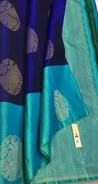 Pure Kanchi Silk With Blouse (15)