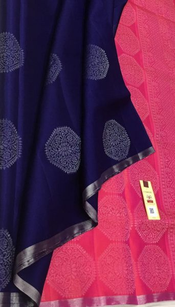 Pure Kanchi Silk With Blouse (16)