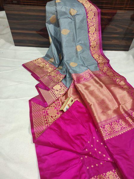Order Katan Silk Sarees With Blouse (1)