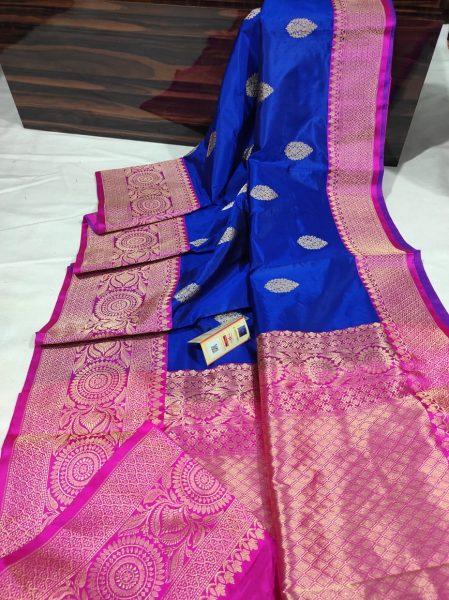 Order Katan Silk Sarees With Blouse (10)