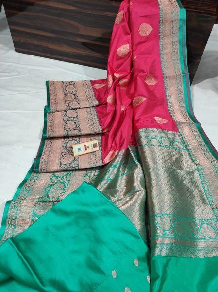 Order Katan Silk Sarees With Blouse (19)