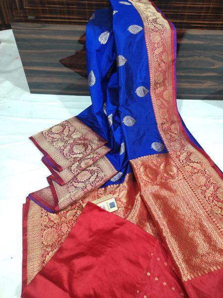 Order Katan Silk Sarees With Blouse (2)