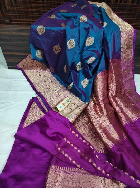 Order Katan Silk Sarees With Blouse (3)