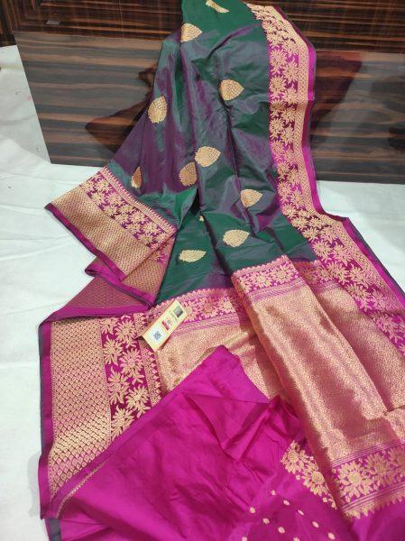 Order Katan Silk Sarees With Blouse (9)