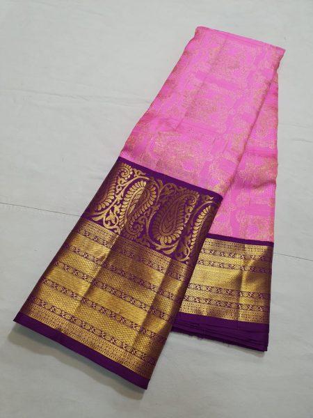 Kanchi Pattu Silk Sarees (4)