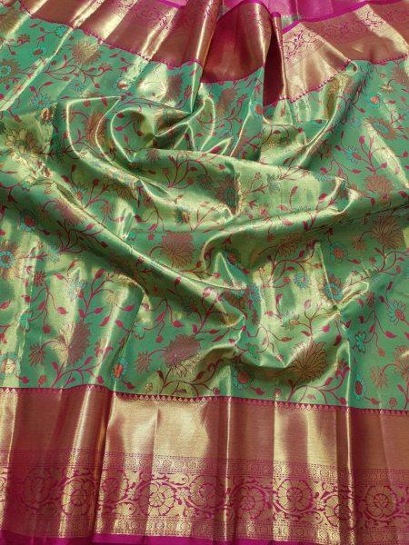 Kanchi Pattu Silk Sarees (5)