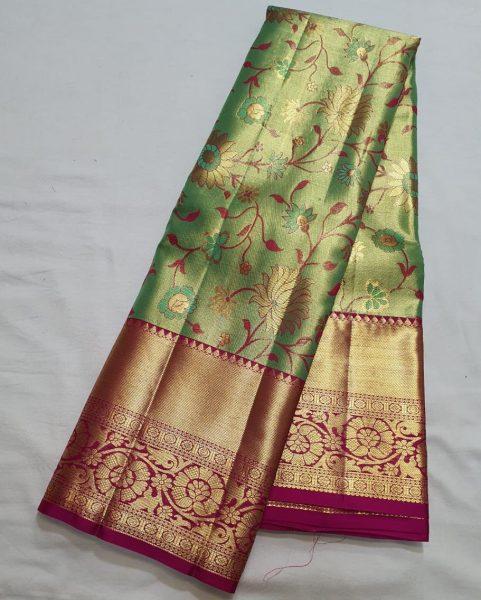 Kanchi Pattu Silk Sarees (8)