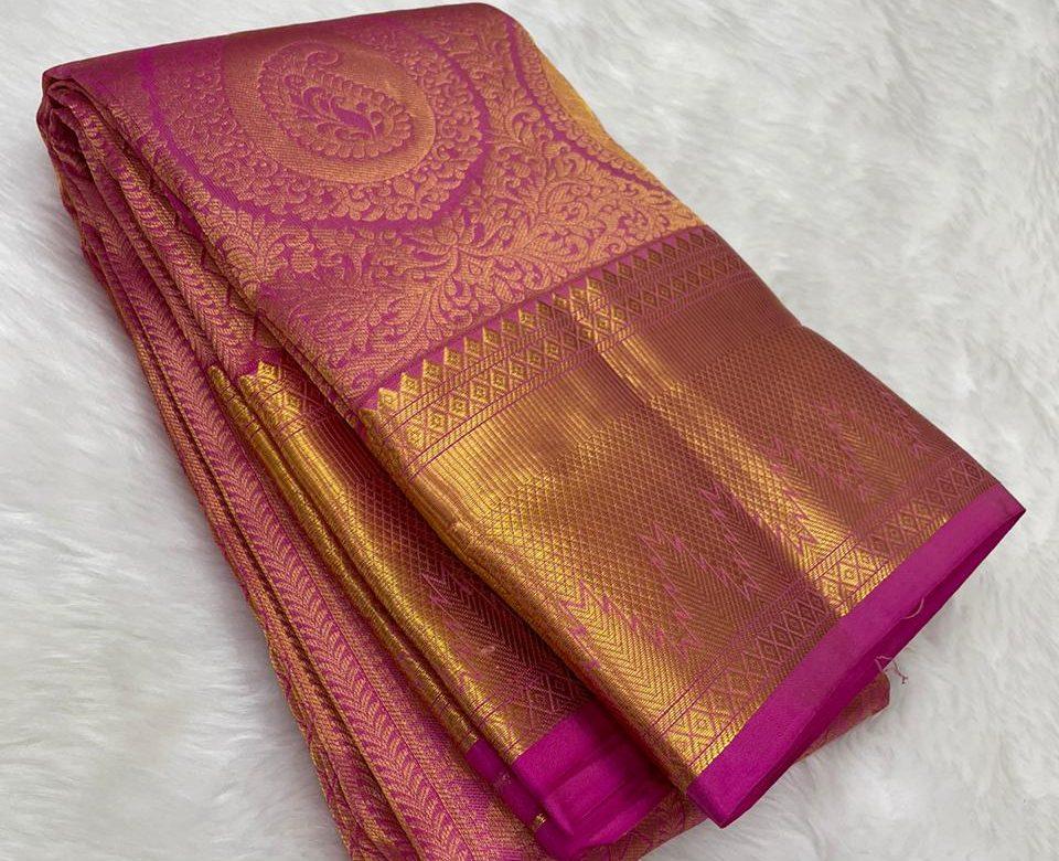 Pure Kanchipuram Wedding Sarees (4)