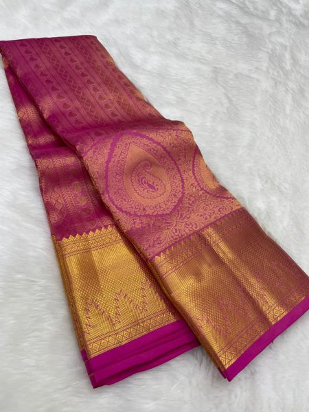 Pure Kanchipuram Wedding Sarees (6)
