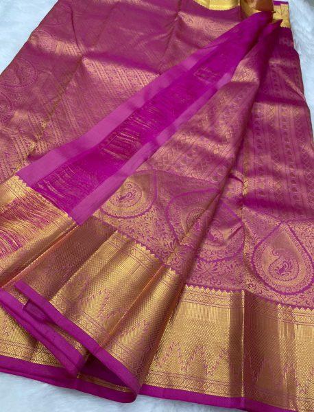 Pure Kanchipuram Wedding Sarees (7)