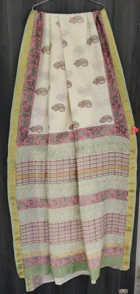 Latest Maheshwari Silk Sarees With Blouse (10)