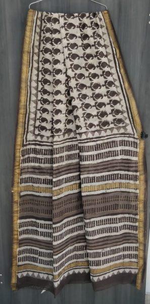 Latest Maheshwari Silk Sarees With Blouse (11)