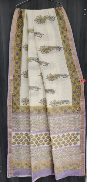Latest Maheshwari Silk Sarees With Blouse (12)