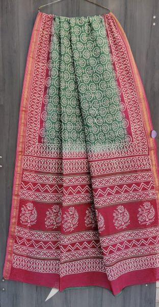 Latest Maheshwari Silk Sarees With Blouse (16)