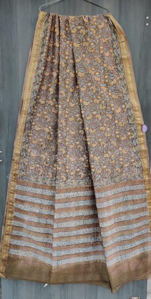 Latest Maheshwari Silk Sarees With Blouse (17)