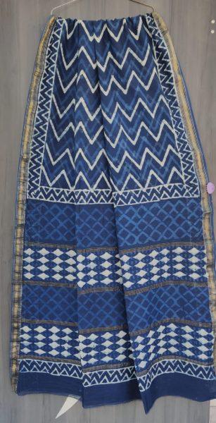 Latest Maheshwari Silk Sarees With Blouse (18)