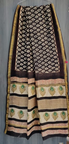 Latest Maheshwari Silk Sarees With Blouse (2)