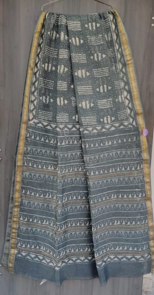 Latest Maheshwari Silk Sarees With Blouse (20)
