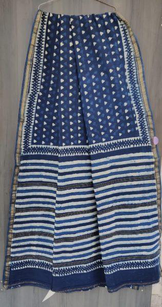 Latest Maheshwari Silk Sarees With Blouse (23)