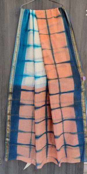 Latest Maheshwari Silk Sarees With Blouse (24)