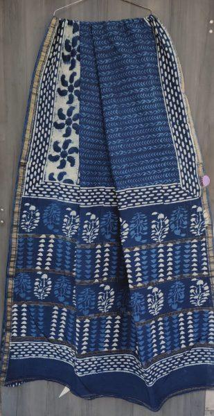 Latest Maheshwari Silk Sarees With Blouse (25)