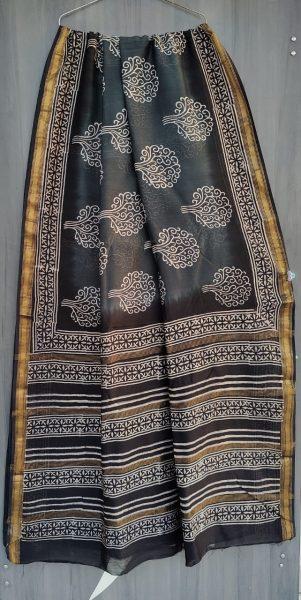 Latest Maheshwari Silk Sarees With Blouse (29)