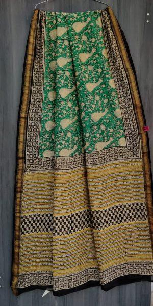 Latest Maheshwari Silk Sarees With Blouse (3)
