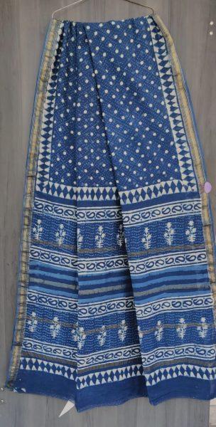 Latest Maheshwari Silk Sarees With Blouse (30)