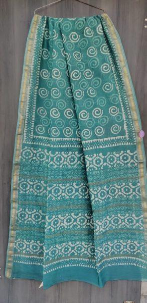 Latest Maheshwari Silk Sarees With Blouse (32)