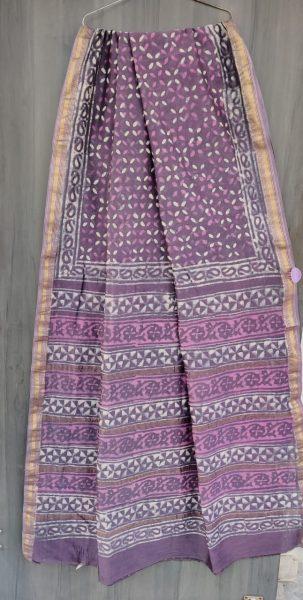 Latest Maheshwari Silk Sarees With Blouse (33)
