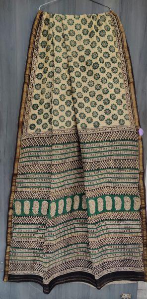 Latest Maheshwari Silk Sarees With Blouse (35)