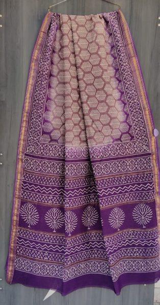 Latest Maheshwari Silk Sarees With Blouse (36)