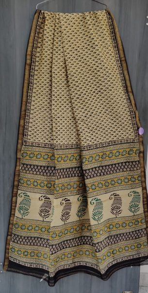 Latest Maheshwari Silk Sarees With Blouse (38)