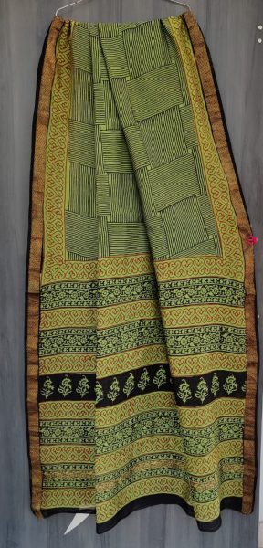 Latest Maheshwari Silk Sarees With Blouse (41)