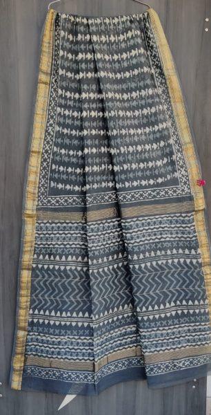 Latest Maheshwari Silk Sarees With Blouse (44)