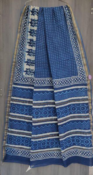 Latest Maheshwari Silk Sarees With Blouse (48)
