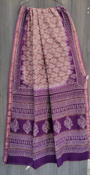 Latest Maheshwari Silk Sarees With Blouse (49)