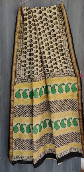 Latest Maheshwari Silk Sarees With Blouse (5)