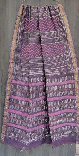 Latest Maheshwari Silk Sarees With Blouse (51)