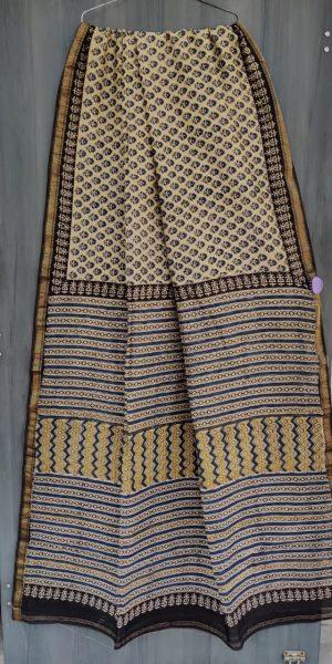 Latest Maheshwari Silk Sarees With Blouse (52)