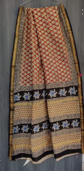 Latest Maheshwari Silk Sarees With Blouse (6)