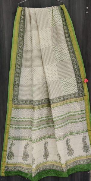 Latest Maheshwari Silk Sarees With Blouse (8)