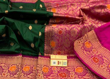 Pure Handloom Banaras Katan Silk Sarees (30)