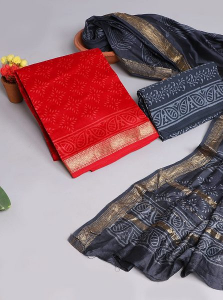 Pure Maheshwari Silk Dresses (1)