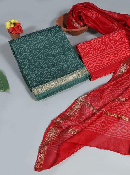 Pure Maheshwari Silk Dresses (14)